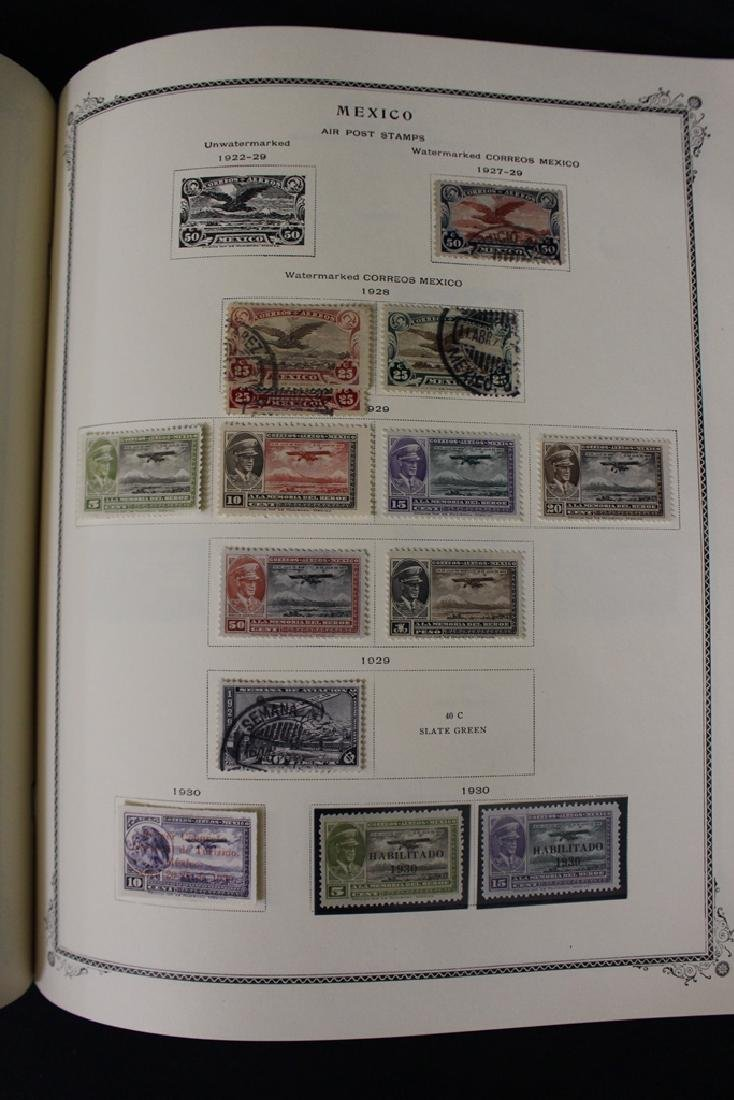 Mexico - Unused Used Stamp Collection (4)Albums to 1980