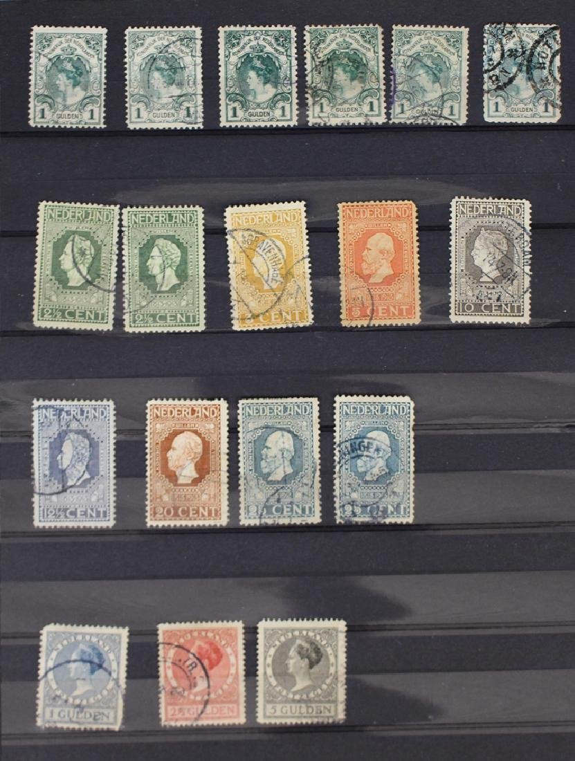 Netherlands Unused Used Stamp Collection