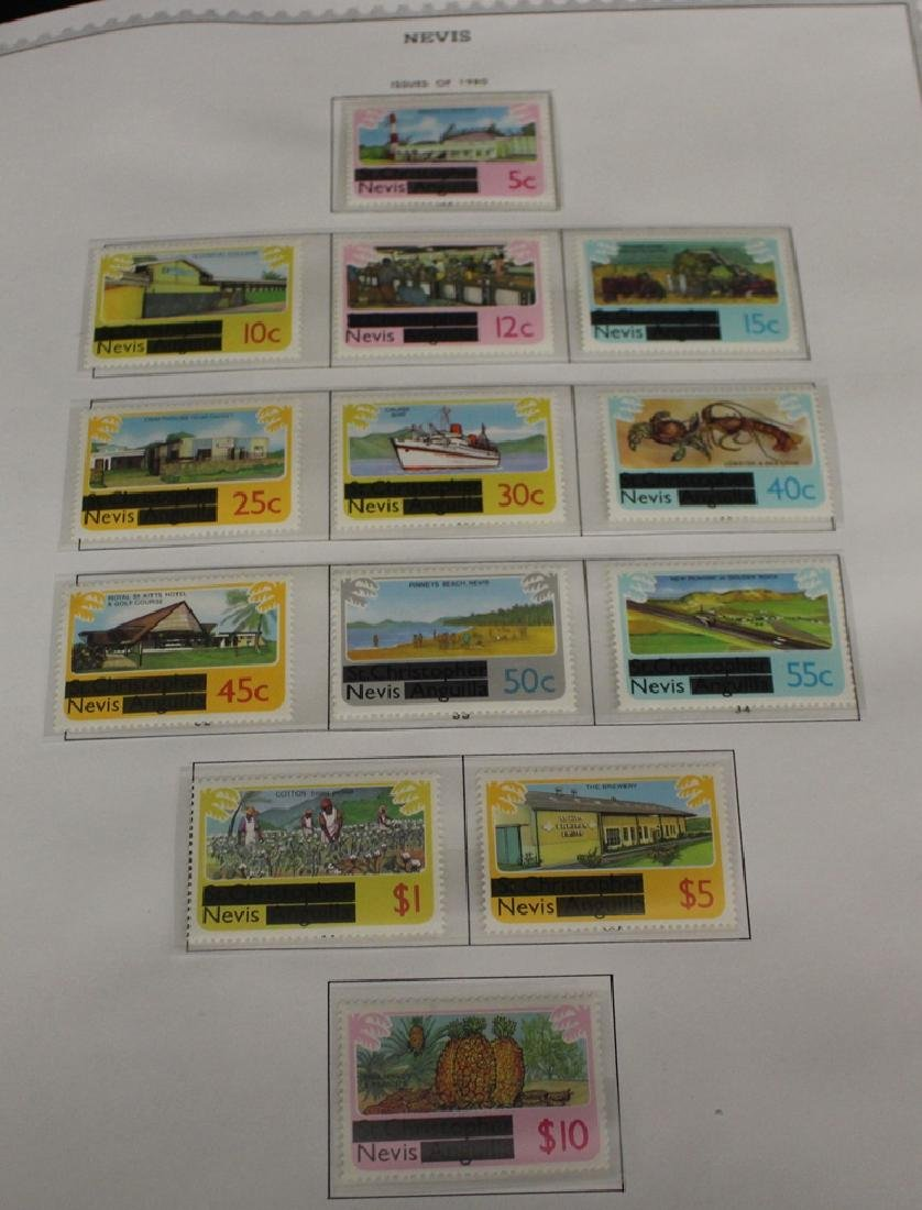 Nevis Unused Stamp Collection to 1986