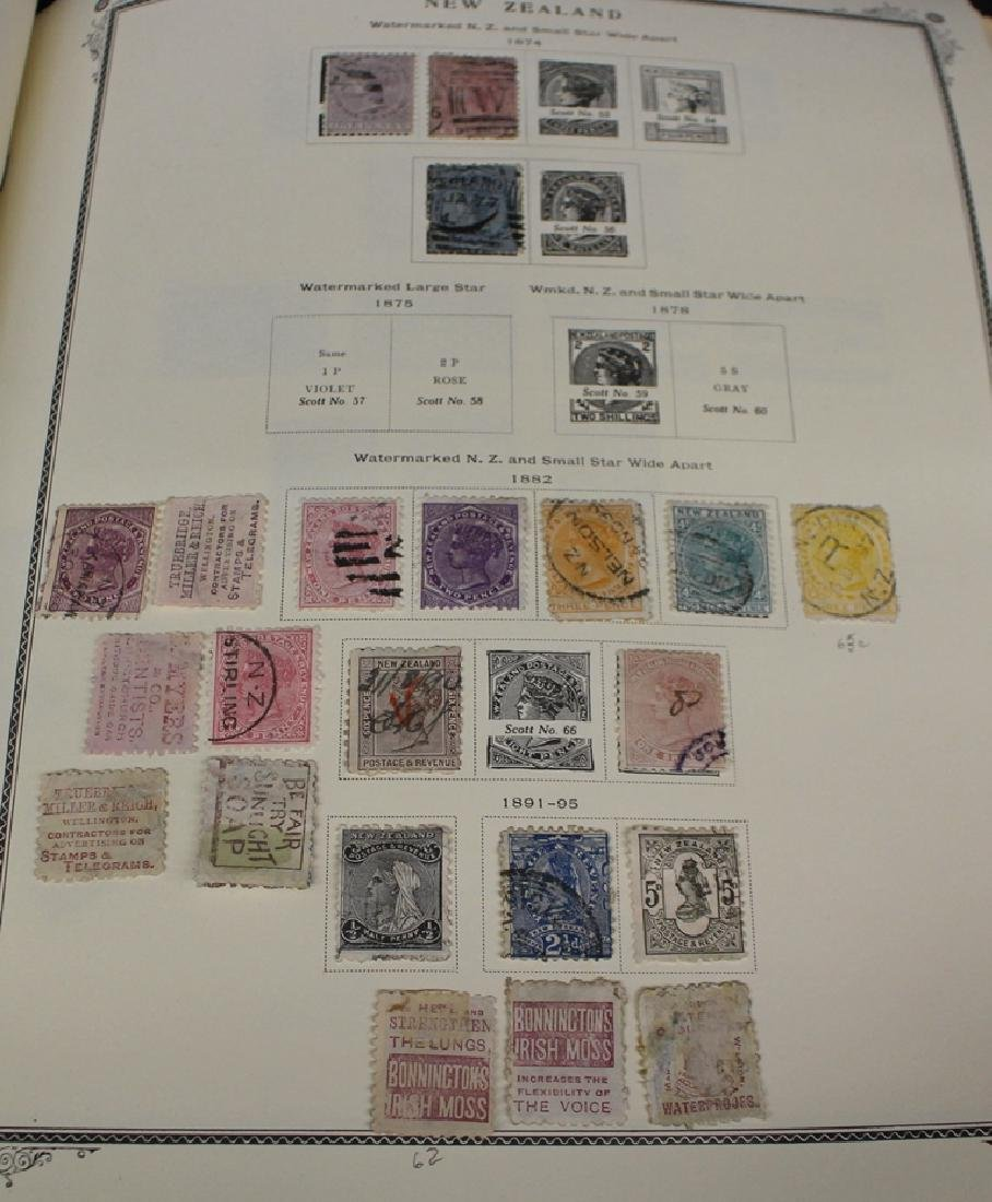 New Zealand Unused Used Stamp Collection 1874-1996