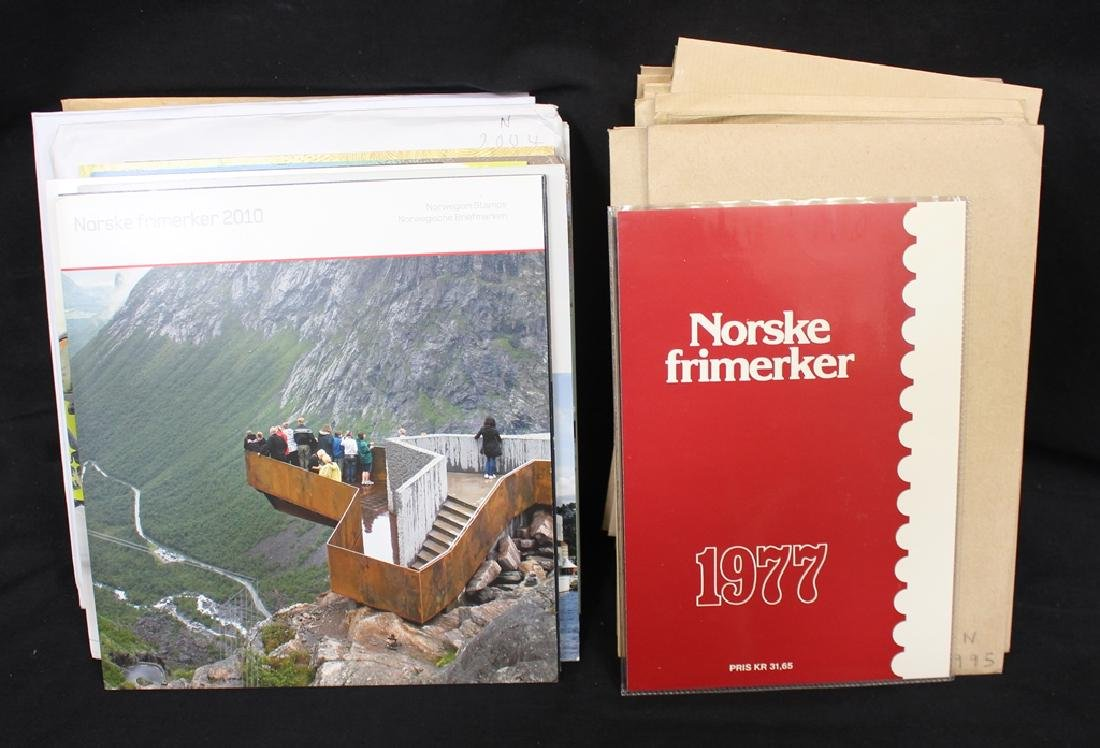 1977-2010 Norway Mint Stamp Year Sets