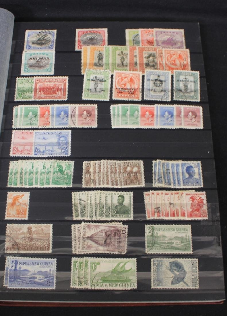 Papua New Guinea Unused Used Stamp Collection
