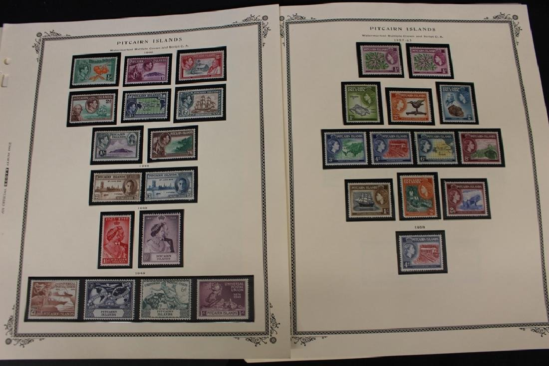 Pitcairn Islands Mint Never Hinged 1940-1987 Collection