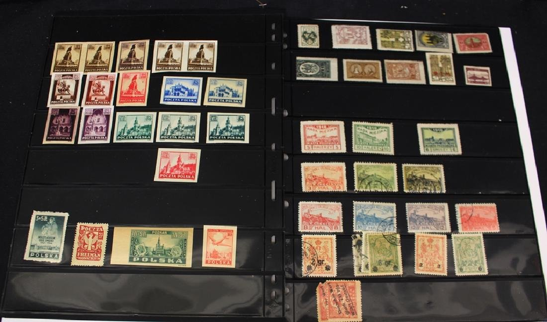 Poland Unused Used Stamp Lot w/Better