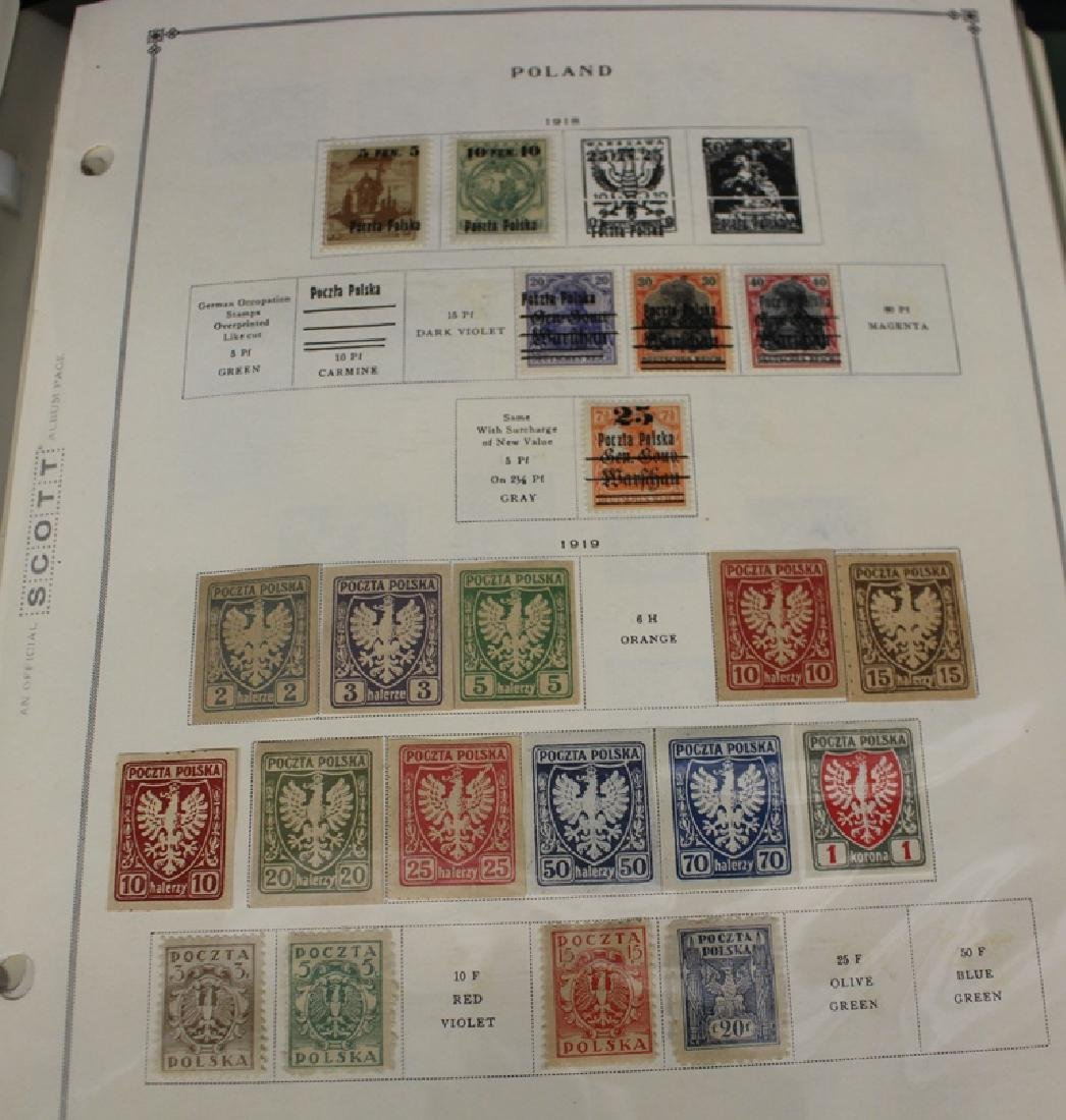 Poland and the Baltics Stamp Collection to 1964
