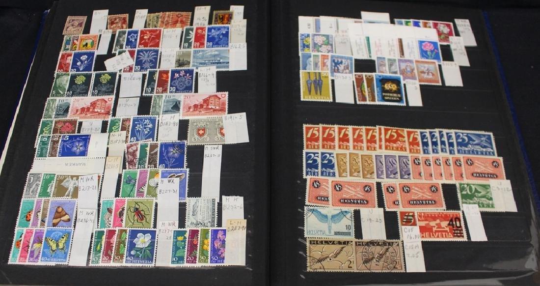 Switzerland - Unused Used Stamps in Stockbook