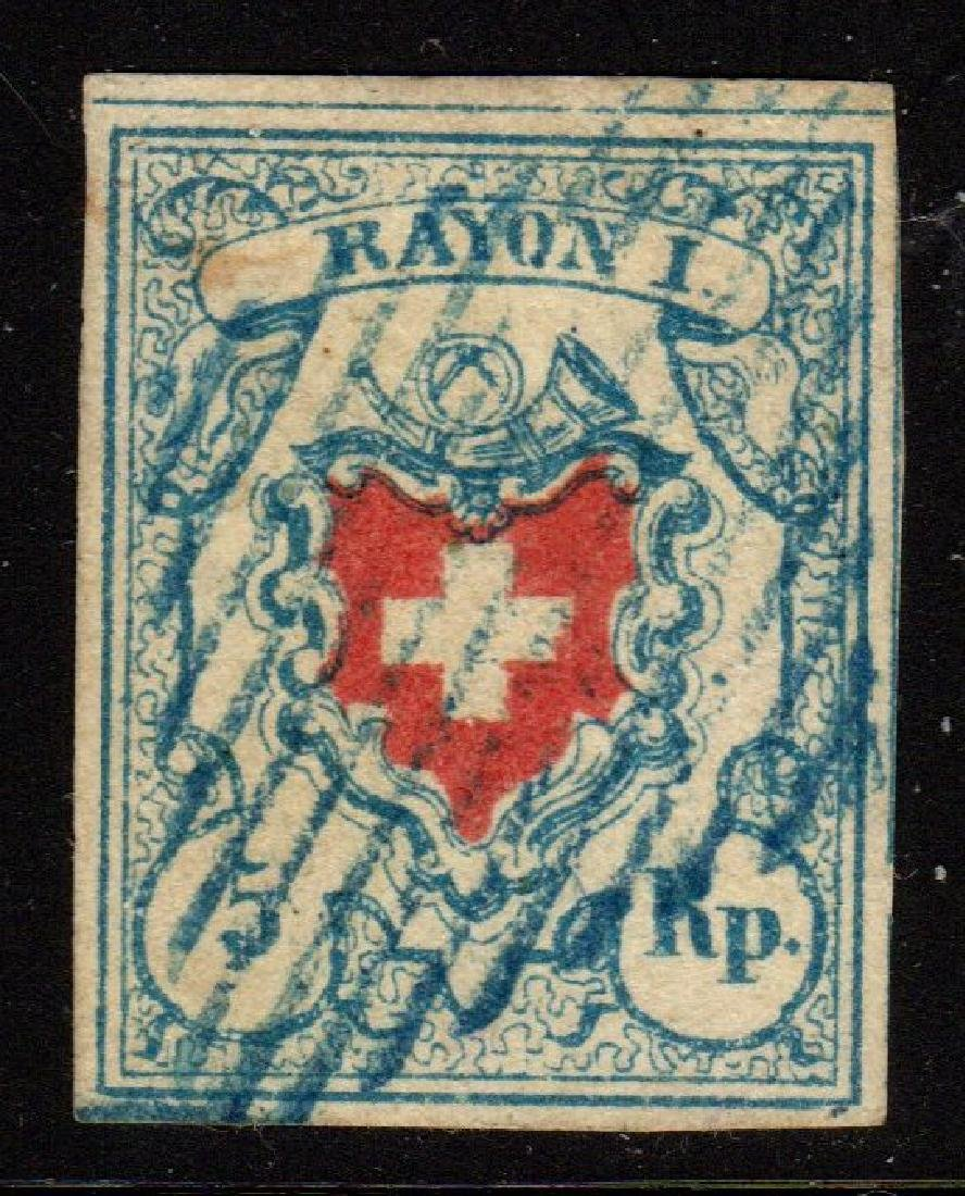 Switzerland Scott 10 VF Used 2010 APEX Certificate