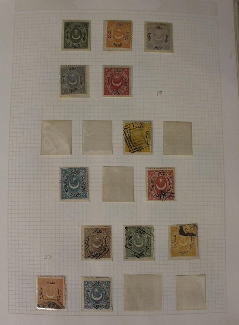 Substantial Turkey Unused Used Stamp Collection