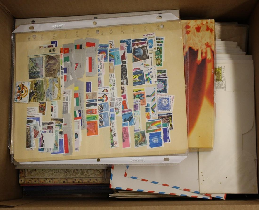 United Nations Stamp & Cover Lot