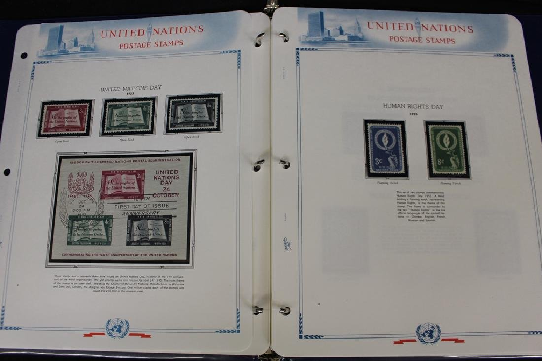 United Nations Unused Stamp Collection 1951-1973