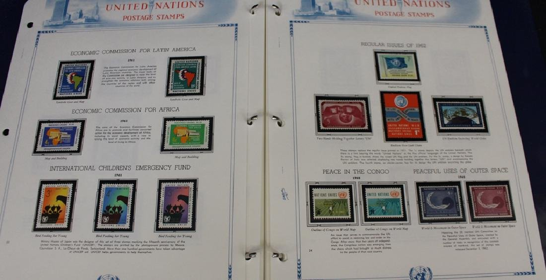 United Nations Unused Stamp Collection 1951-1973 - 2