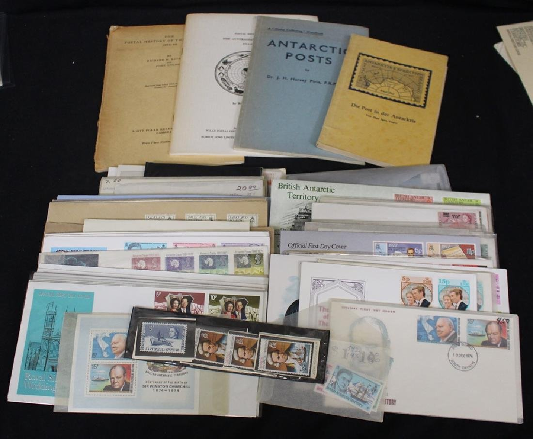 Antarctic Stamps, Covers and Literature Collection