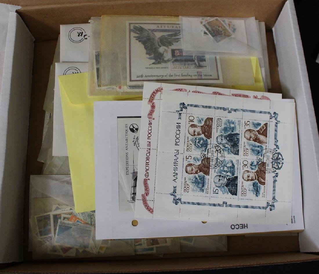 Ships Space & Wildlife Topical Stamp Accumulation