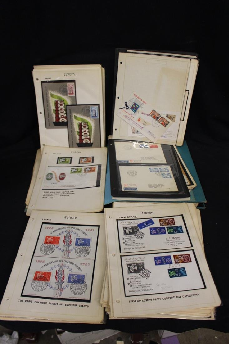 Europa - Award Winning Cover and Stamp Exhibit