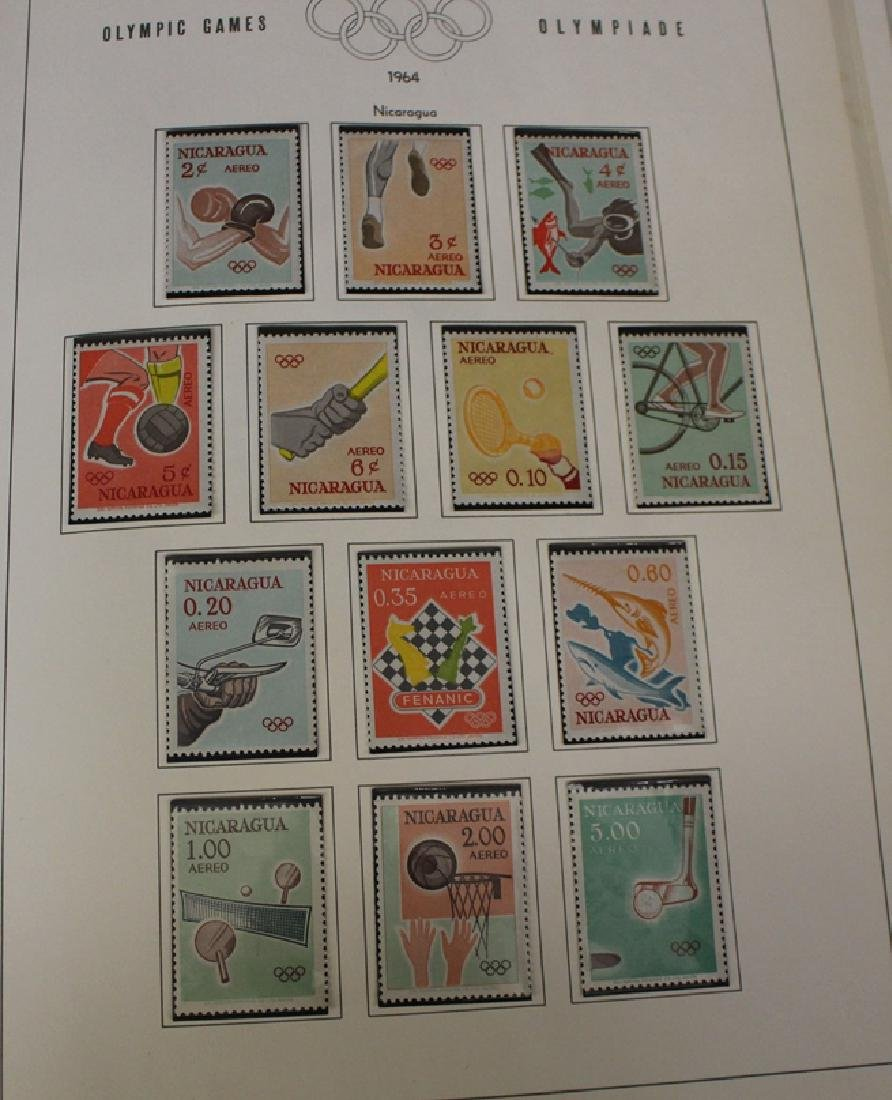 1964 Olympic Unused Stamp Collection - 2