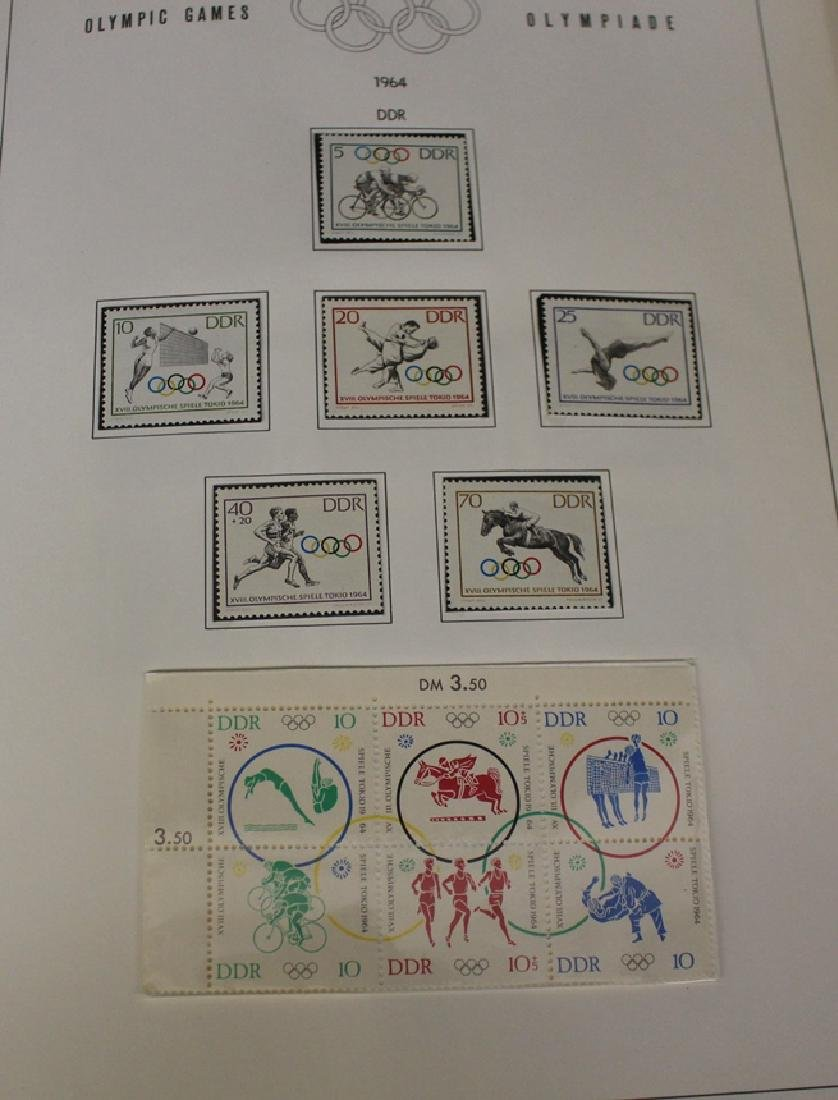 1964 Olympic Unused Stamp Collection - 3