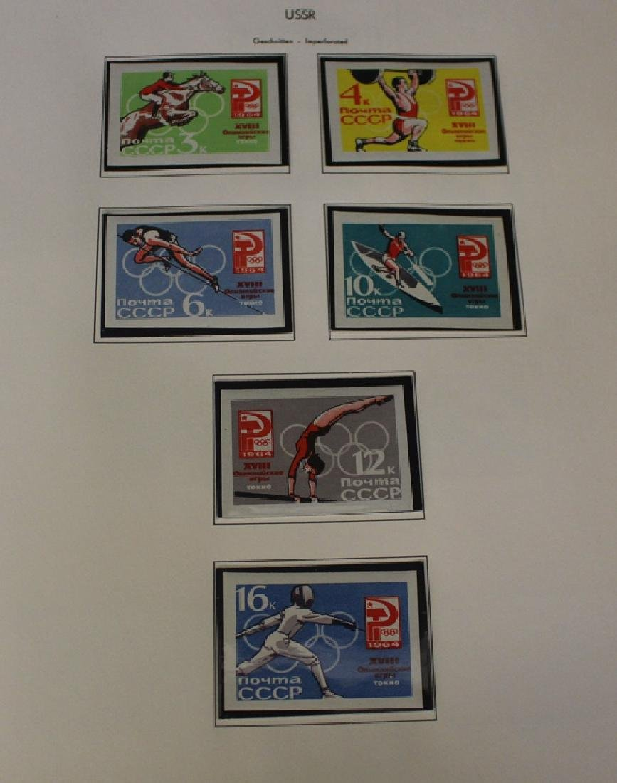 1964 Olympic Unused Stamp Collection - 4