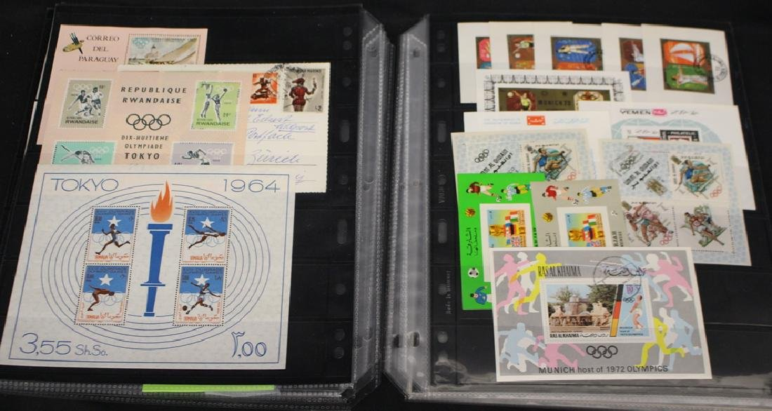 Worldwide Sports & Space Topical Stamps and Souvenir