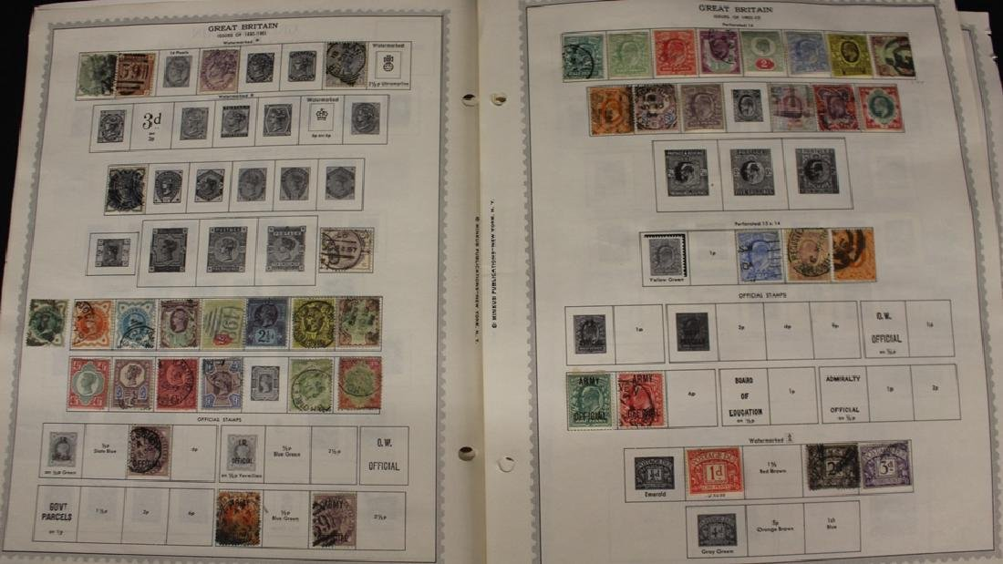 Great Britain and British Africa Stamp Collection to
