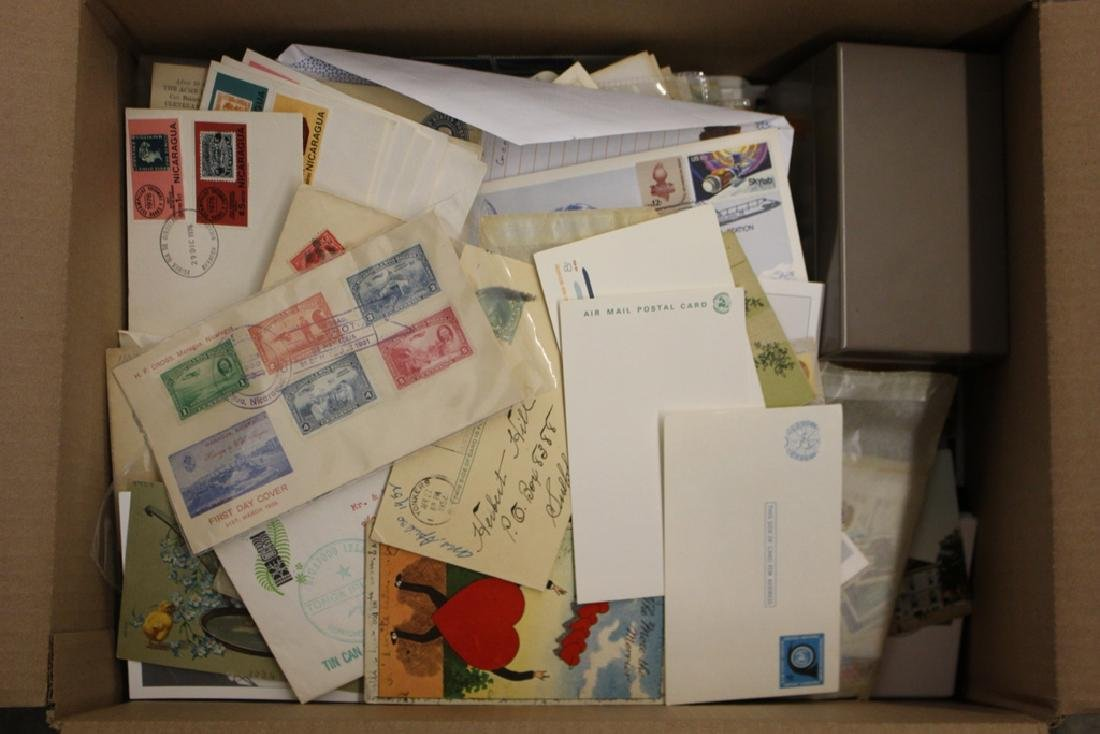U.S. and Worldwide Stamp Cover Accumulation