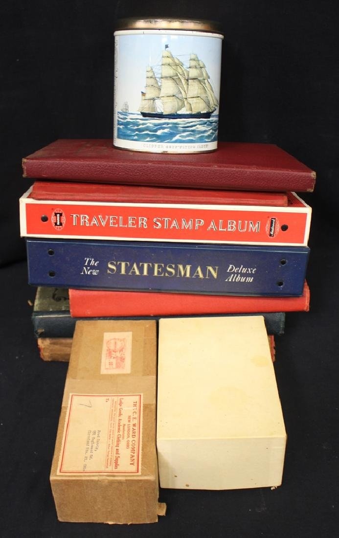 U.S. and Worldwide Stamp Collection Accumulation