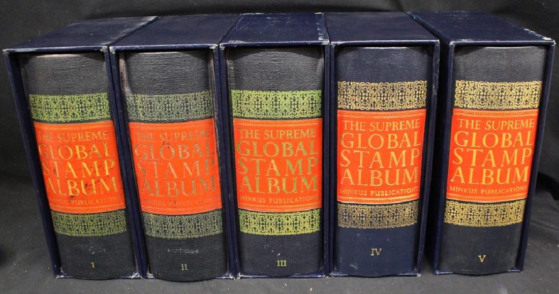 Worldwide Stamp Collection (5)Volume Minkus Global to