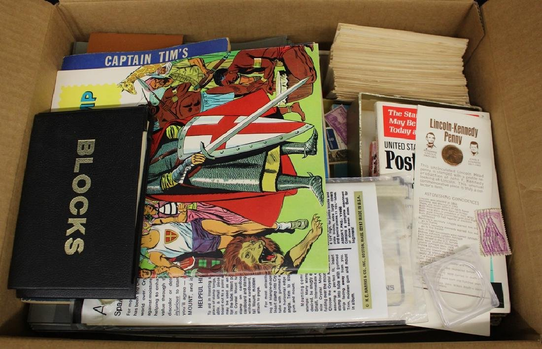 Worldwide Stamps and Supplies Lot