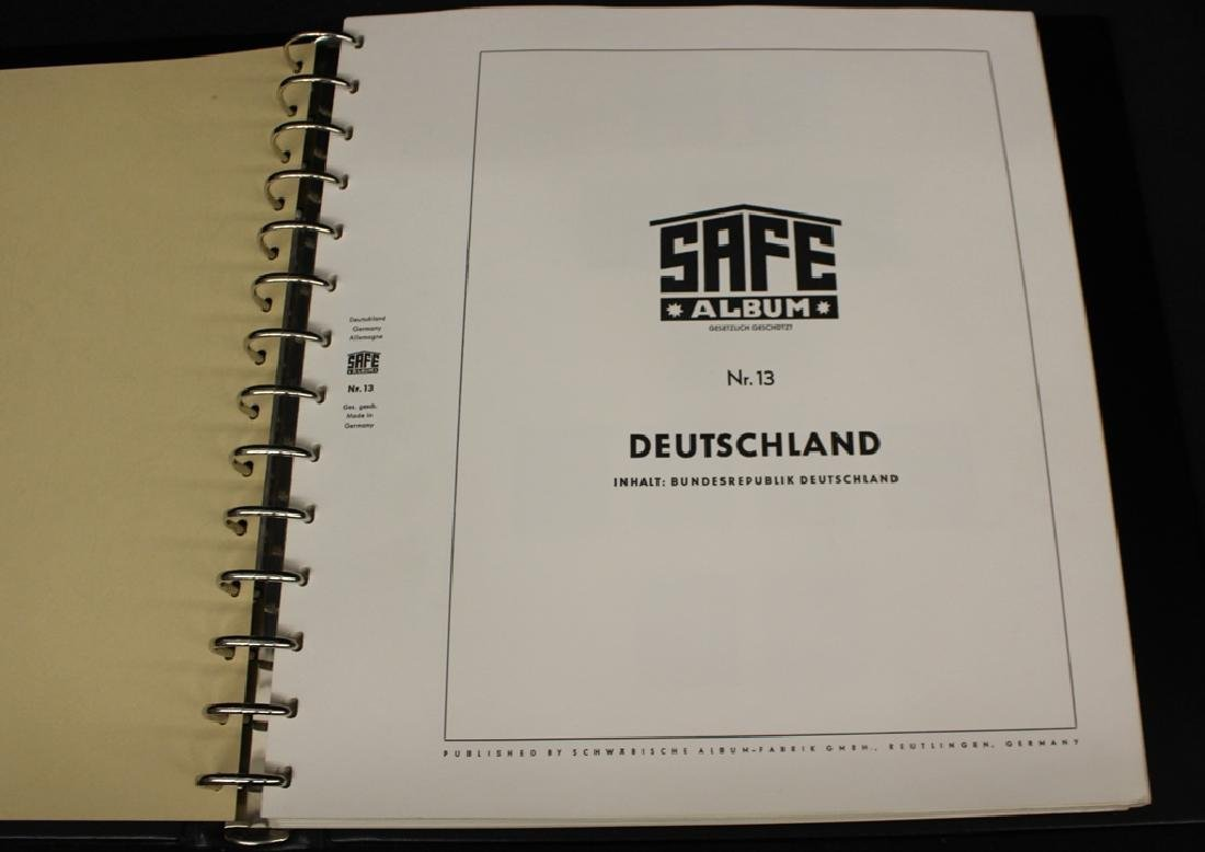 Safe Hingeless Germany Album 1949-1969