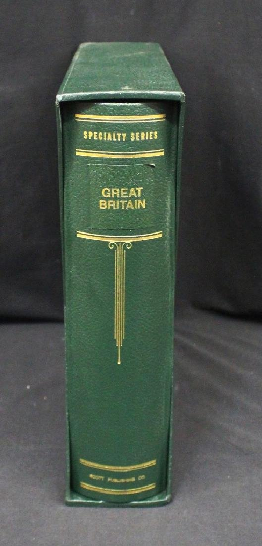 New Great Britain Scott Specialized Album w/Slipcase to