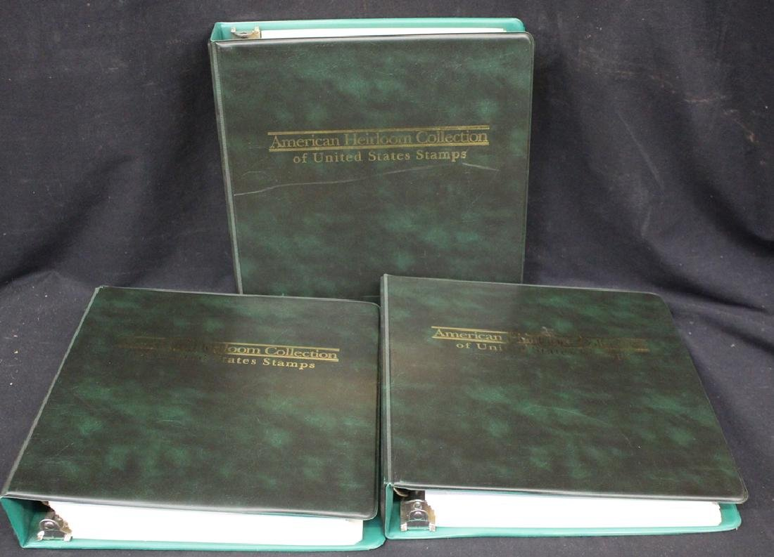 (3)Volume American Heirloom Commemorative Albums