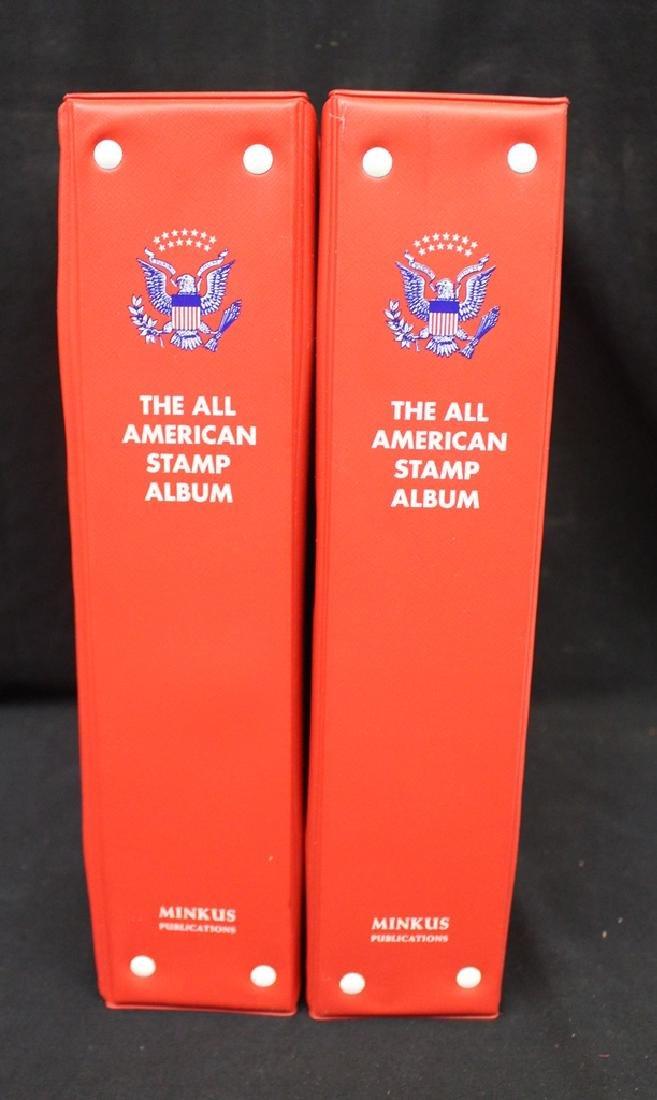 (2) Volume Minkus All American Album Set New to 1983