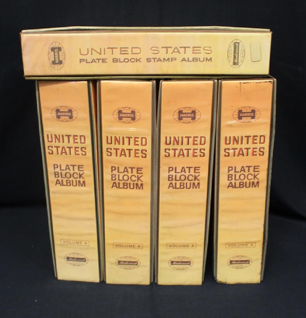 (4)Harris Liberty Plate Block Albums 1901-1963 Plus