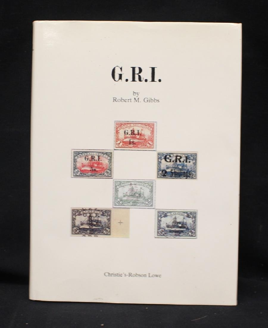 Robert Gibbs - G.R.I. - The Postage Stamps of the