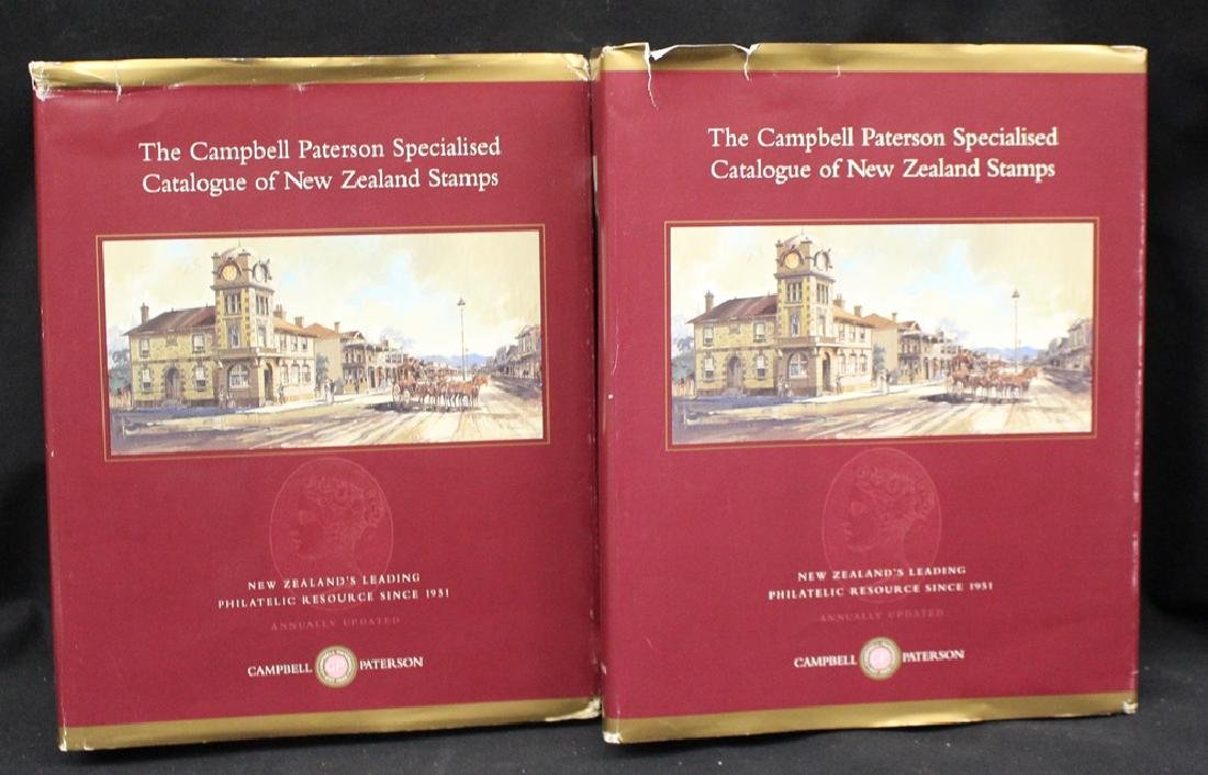 (2)Volume Campbell Paterson New Zealand Specialized