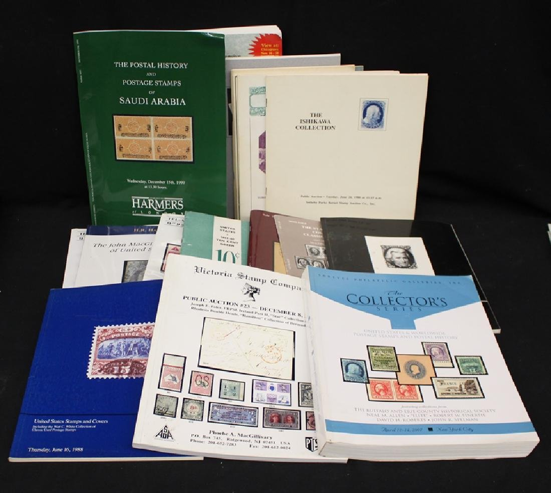 Philatelic Literature and Auction Catalogs