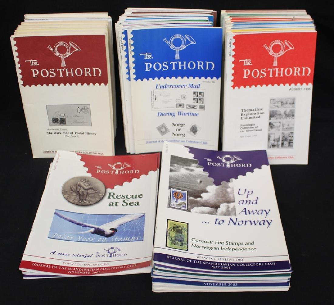 Posthorn - (95) Issues of the Scandinavian Collectors