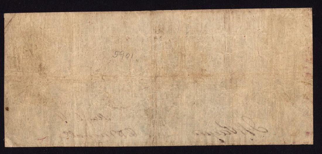 1861 $5 The Bank of Philippi, (West) Virigina Obsolete - 2