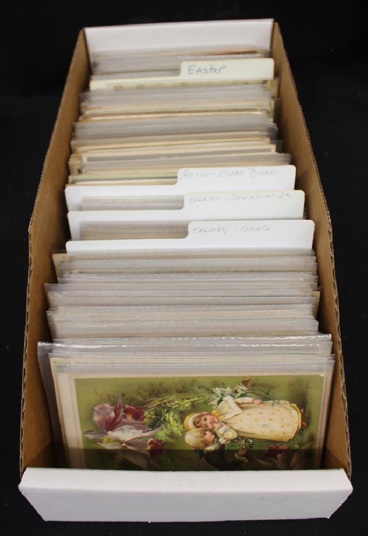 (500-600) Greetings Postcards