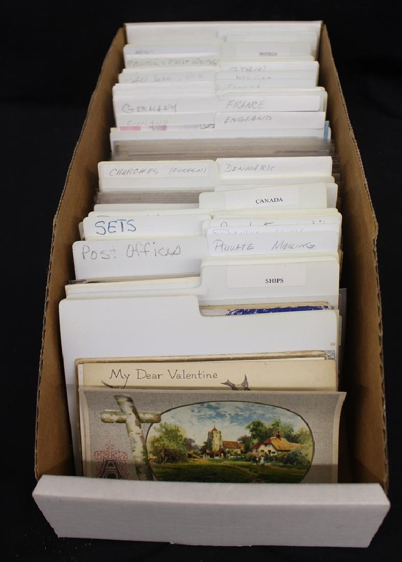 (400-600) U.S. and Foreign Postcards Retired Dealer