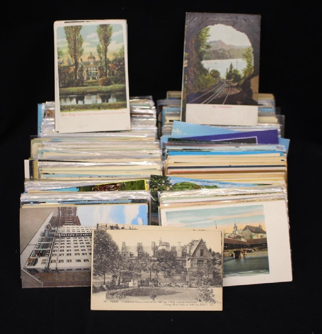 (800-1000) U.S. Postcards - Mixed States Towns Views