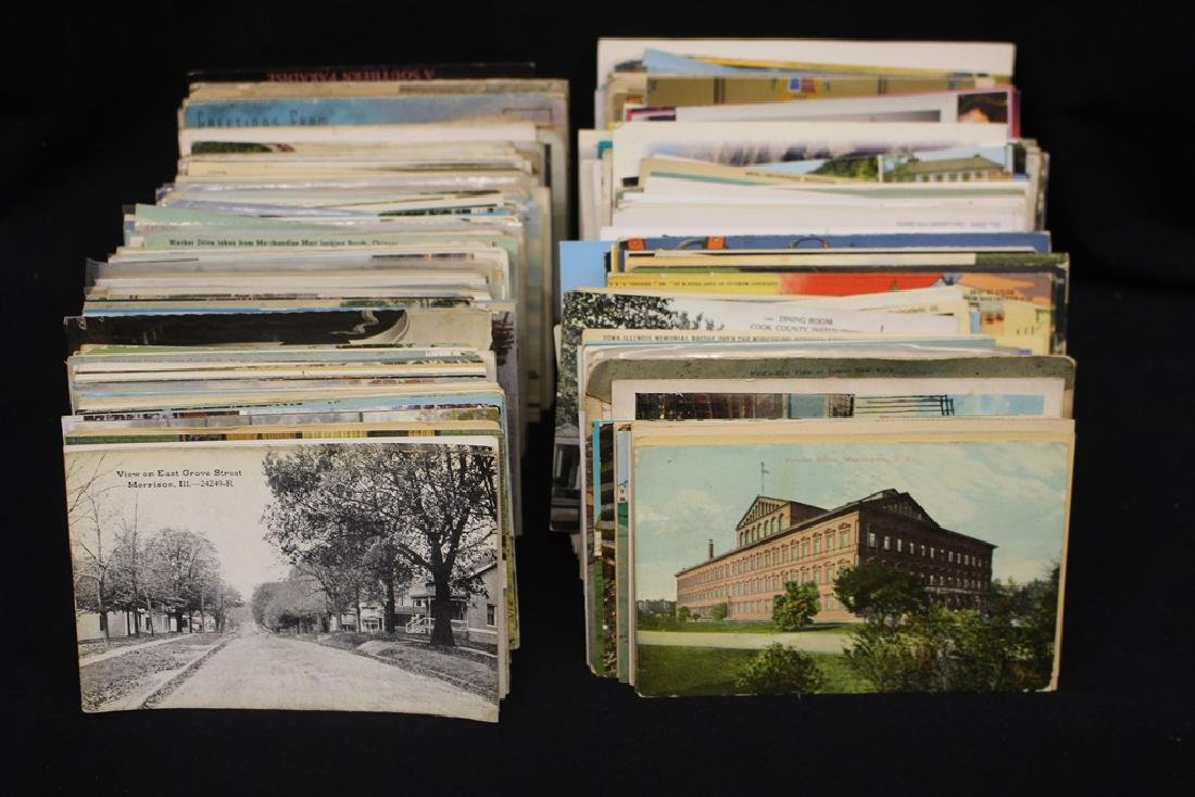 (700-900) U.S. and Foreign Postcards