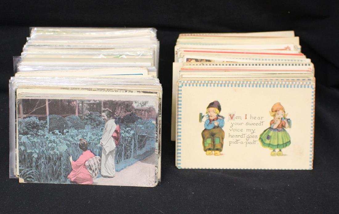 (400-600) Foreign and Dutch Kids Postcards