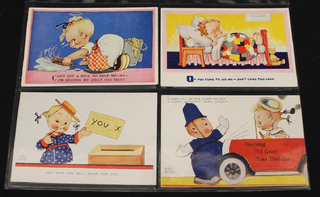 Mable Attwell - (52) Different Artist Drwan Postcards - 2