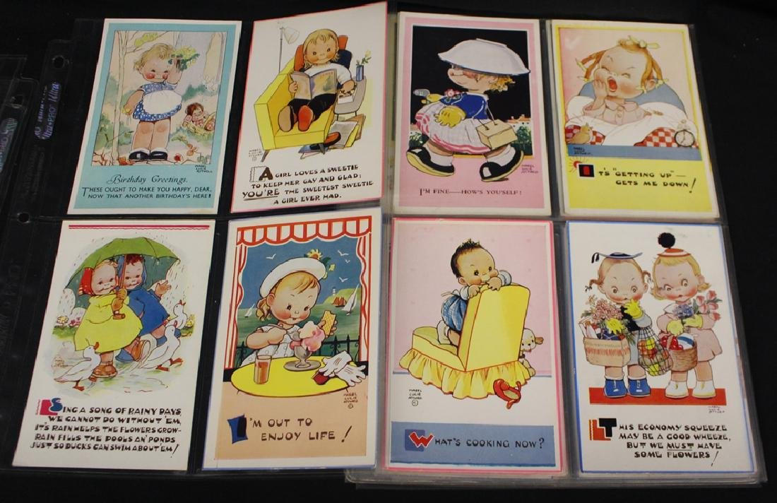 Mable Attwell - (52) Different Artist Drwan Postcards - 3