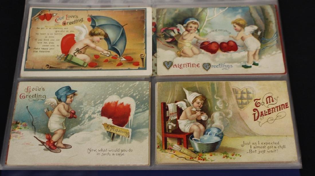 Clapsaddle - (63) Greetings plus one Brundage Santas - 2