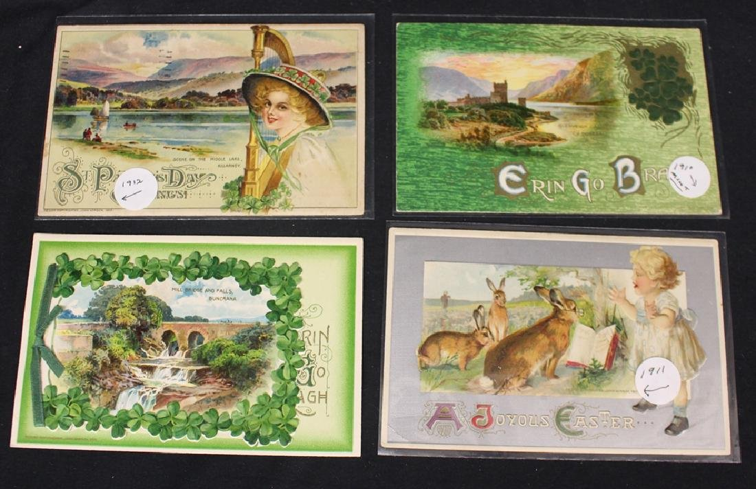 Winsch - (100)+ Easter and St.Patricks Postcards - 2
