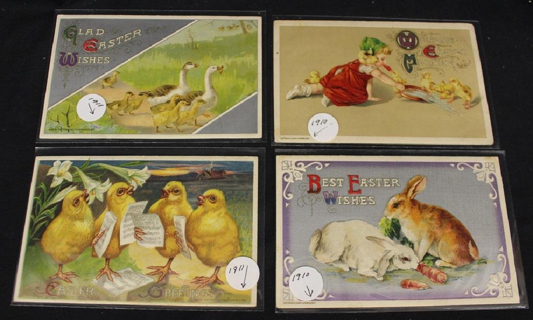 Winsch - (100)+ Easter and St.Patricks Postcards - 4