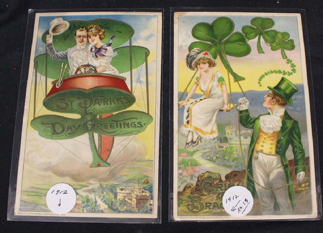 Winsch - (100)+ Easter and St.Patricks Postcards - 5