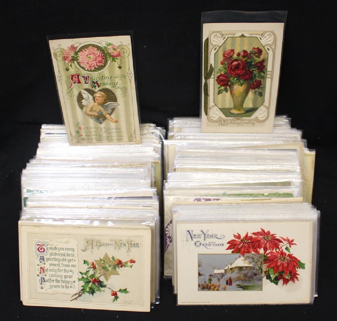 Winsch - (350-450) Greetings Postcards