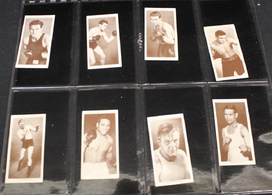 1936 English Boxing and Soccer Cards